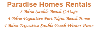 Rental Properties | Sauble Beach Cottage | Port Elgin Beach Home | Sauble Executive Home Winter Rental